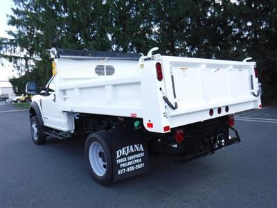 2019 F-550 Regular Cab DRW 4x4,  Rugby Eliminator LP Steel Dump Body #MFU9824 - photo 5