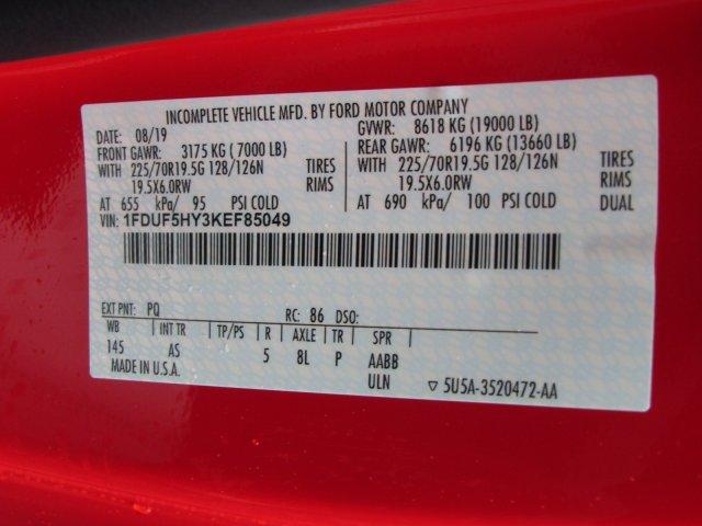 2019 F-550 Regular Cab DRW 4x4, Rugby Eliminator LP Steel Dump Body #MFU9947 - photo 14