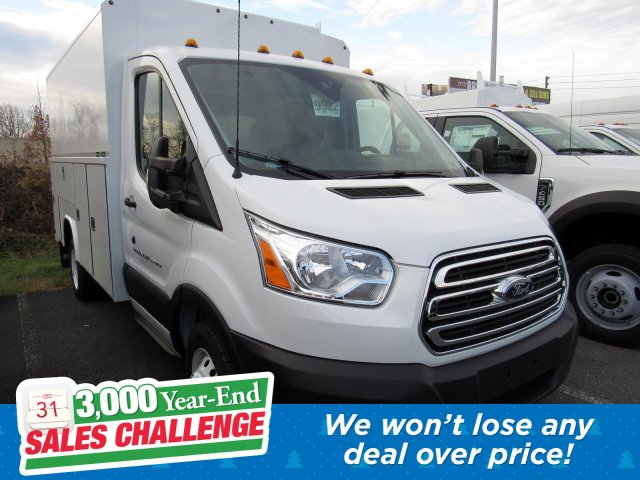2019 Transit 350 HD DRW 4x2, Reading Aluminum CSV Service Utility Van #MFU9989 - photo 1