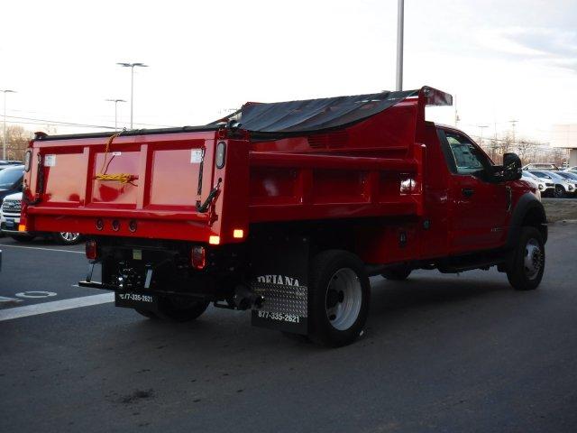 2019 F-550 Regular Cab DRW 4x4, Rugby Eliminator LP Steel Dump Body #MFU9996 - photo 2