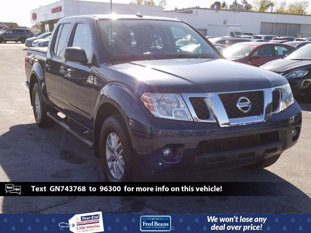 2016 Nissan Frontier Crew Cab 4x4, Pickup #MK0153P - photo 1
