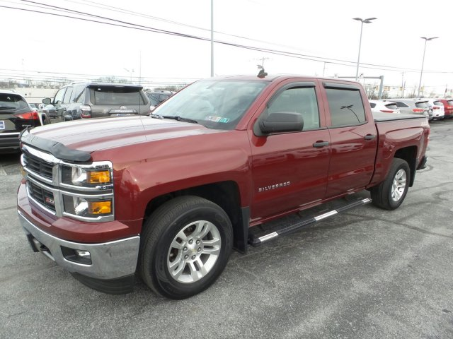 2014 Silverado 1500 Crew Cab 4x4, Pickup #MK9289P - photo 7