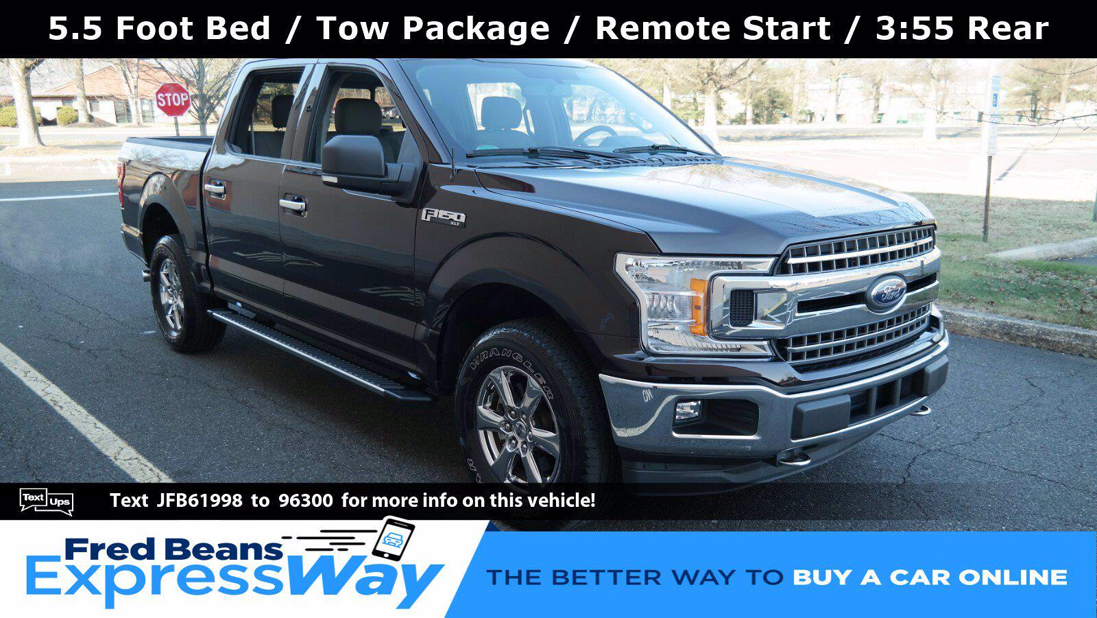 2018 Ford F-150 SuperCrew Cab 4x4, Pickup #FL011421 - photo 1