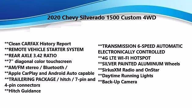 2020 Chevrolet Silverado 1500 Double Cab 4x4, Pickup #FL011751 - photo 4