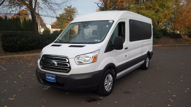 2018 Ford Transit 350 Med Roof 4x2, Passenger Wagon #FL0311P - photo 4