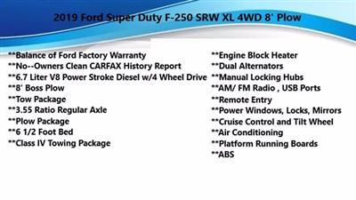 2019 Ford F-250 Regular Cab 4x4, Pickup #FL0319P - photo 5