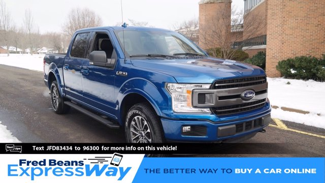 2018 Ford F-150 SuperCrew Cab 4x4, Pickup #FL0356D - photo 1