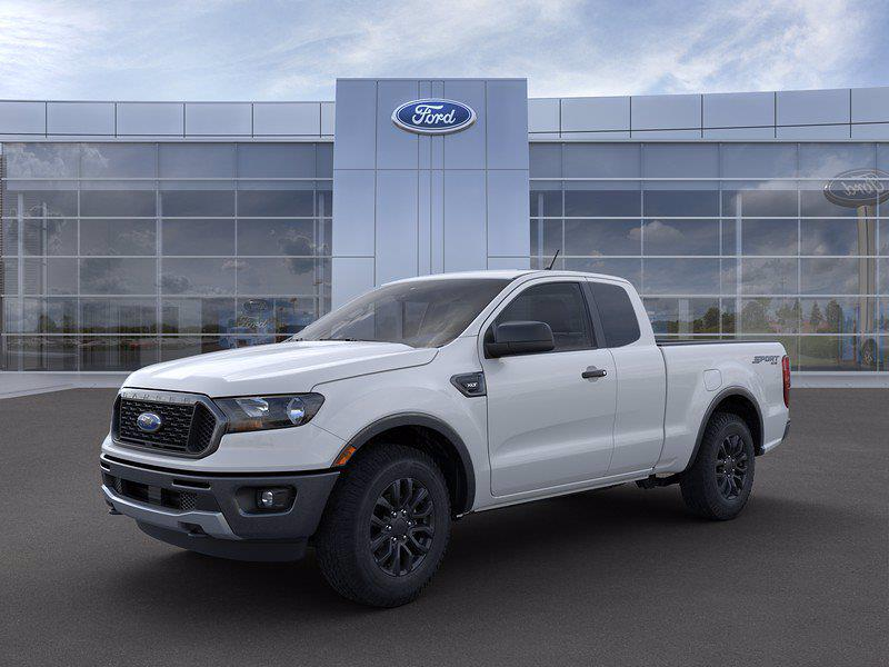 2021 Ford Ranger Super Cab 4x4, Pickup #FL10054 - photo 3