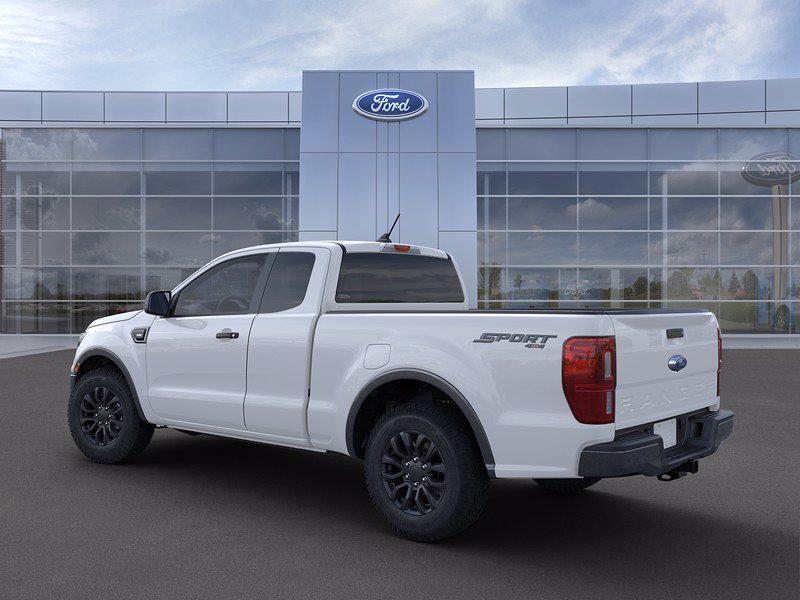 2021 Ford Ranger Super Cab 4x4, Pickup #FL10054 - photo 6