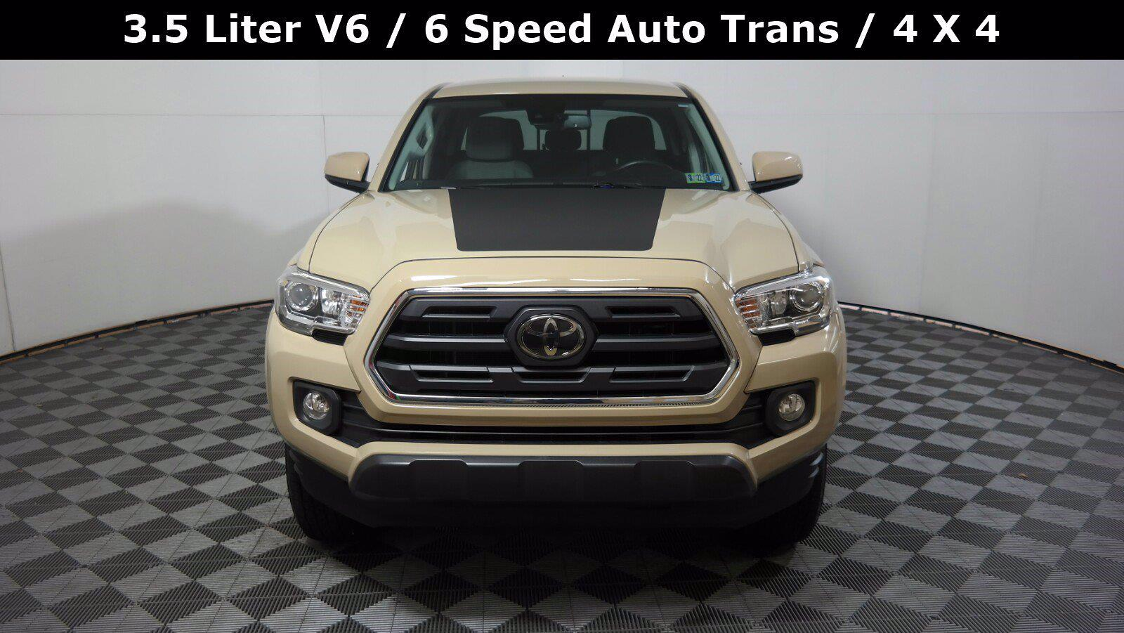 2018 Toyota Tacoma Double Cab 4x4, Pickup #FL1017D1 - photo 4