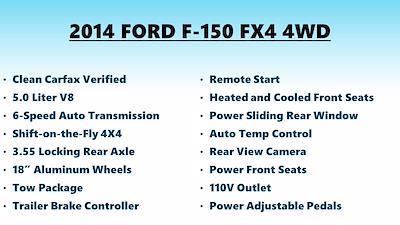 2014 F-150 SuperCrew Cab 4x4,  Pickup #FL102321 - photo 5