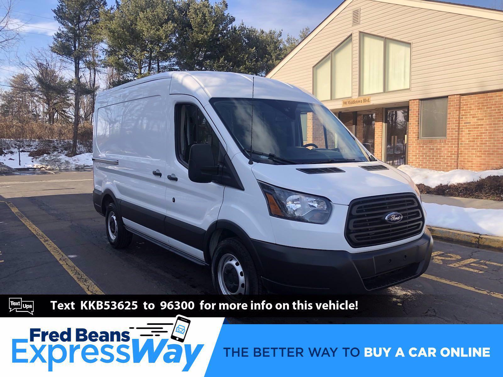 2019 Ford Transit 150 Med Roof 4x2, Empty Cargo Van #FL1031P - photo 1