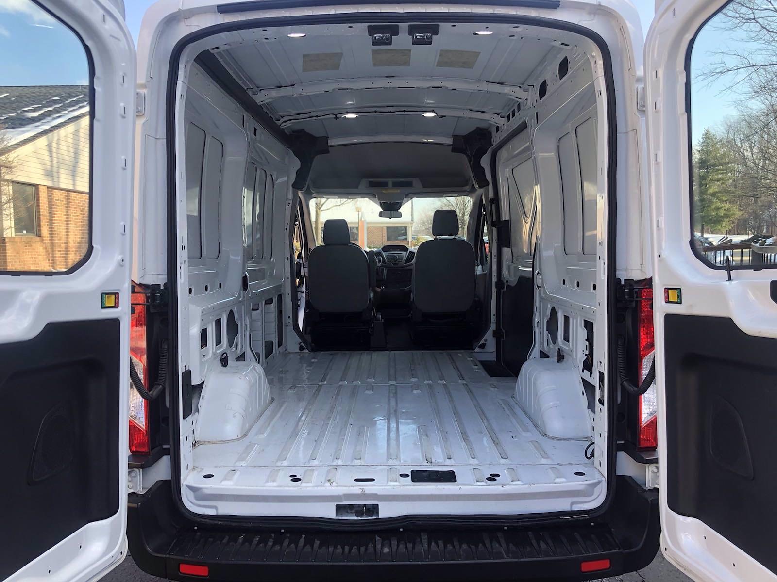 2019 Ford Transit 150 Med Roof 4x2, Empty Cargo Van #FL1031P - photo 2
