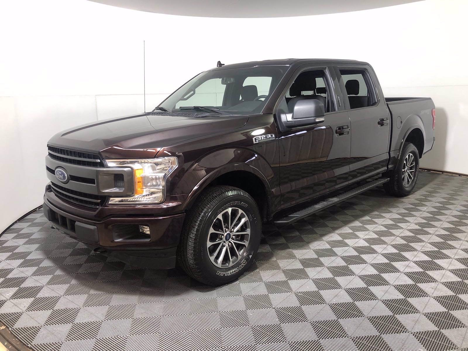 2018 Ford F-150 SuperCrew Cab 4x4, Pickup #FL1034D - photo 4
