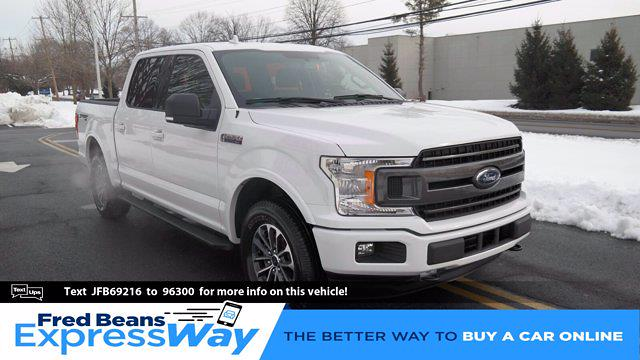 2018 Ford F-150 SuperCrew Cab 4x4, Pickup #FL1043D - photo 1