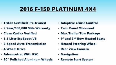 2016 F-150 SuperCrew Cab 4x4,  Pickup #FL104601 - photo 5