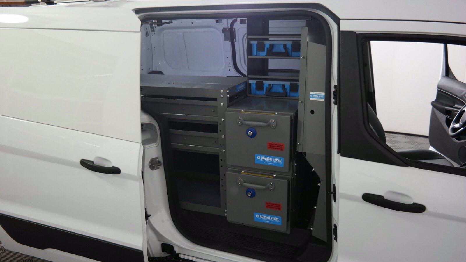 2017 Ford Transit Connect FWD, Upfitted Cargo Van #FL1054J - photo 26