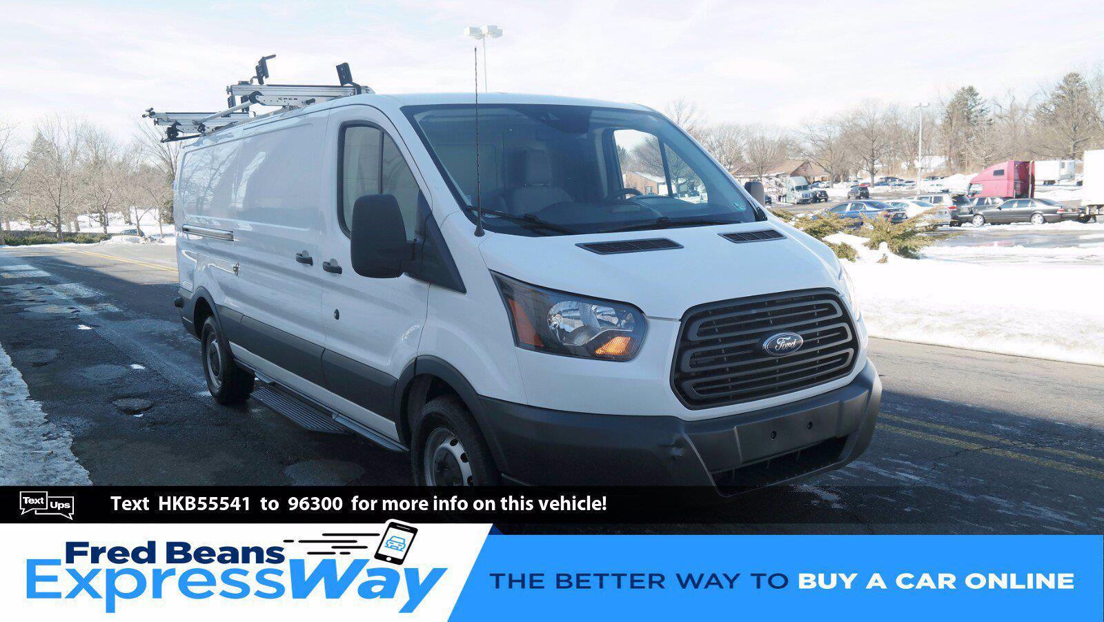 2017 Ford Transit 350 Low Roof 4x2, Upfitted Cargo Van #FL1075J - photo 1