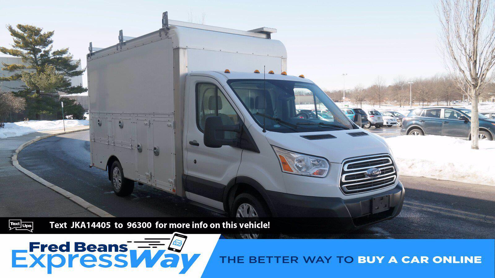 2018 Ford Transit 350 4x2, Service Utility Van #FL1076J - photo 1