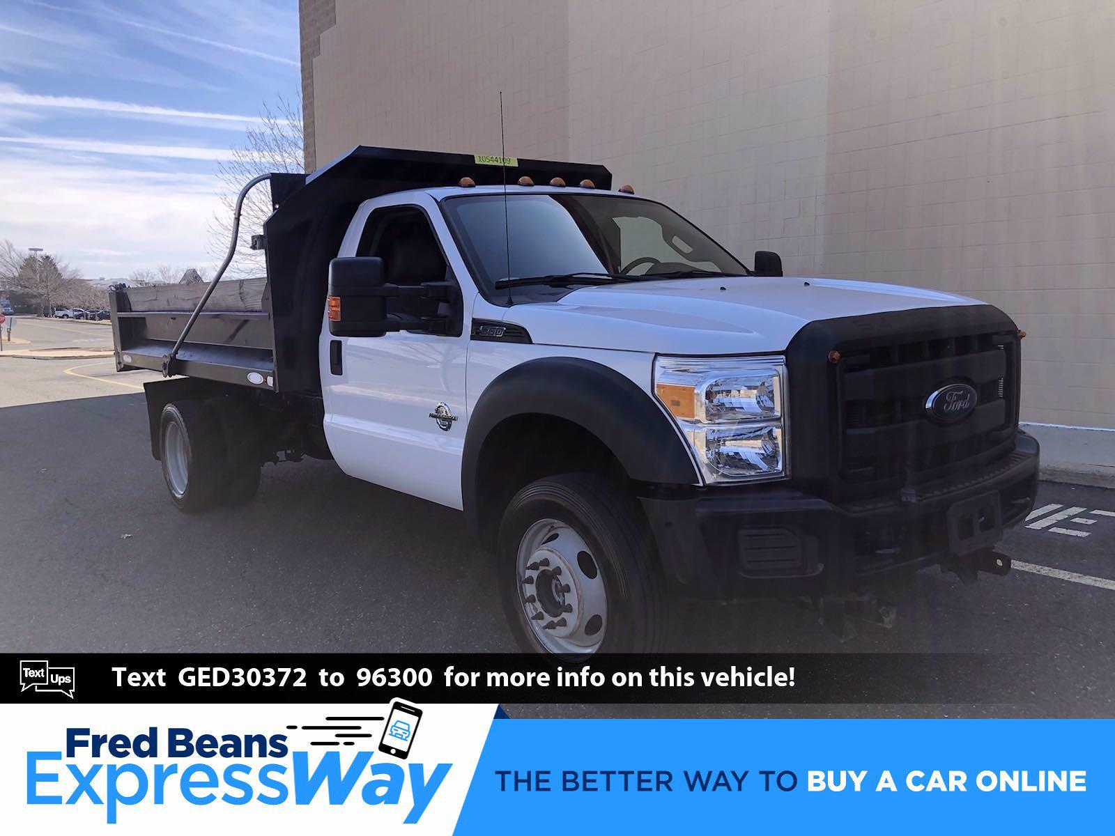 2016 Ford F-550 Regular Cab DRW 4x4, Dump Body #FL1098J - photo 1