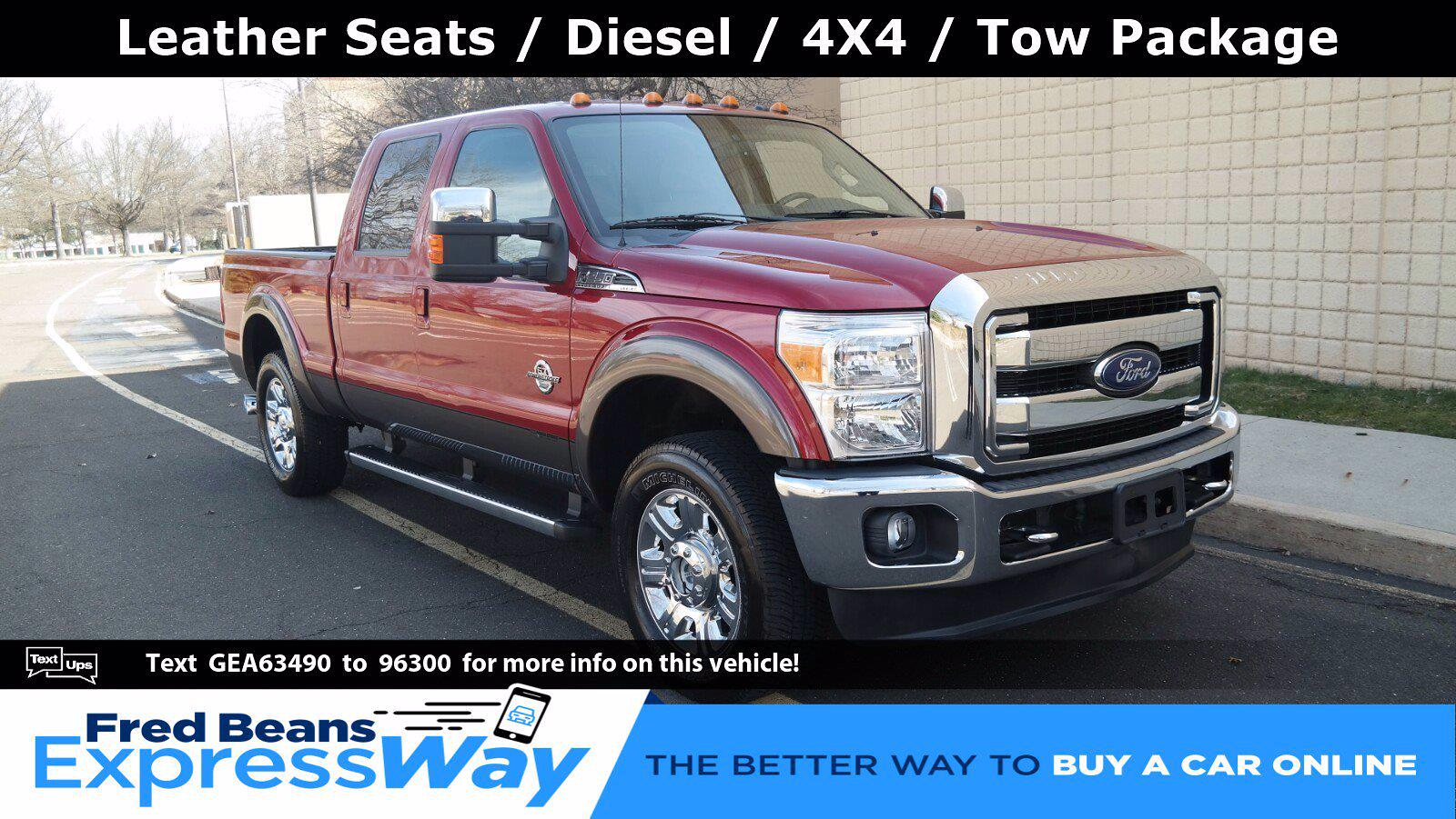 2016 Ford F-250 Crew Cab 4x4, Pickup #FL1116D - photo 1