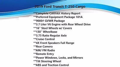 2019 Ford Transit 250 Low Roof 4x2, Empty Cargo Van #FL1139J - photo 5