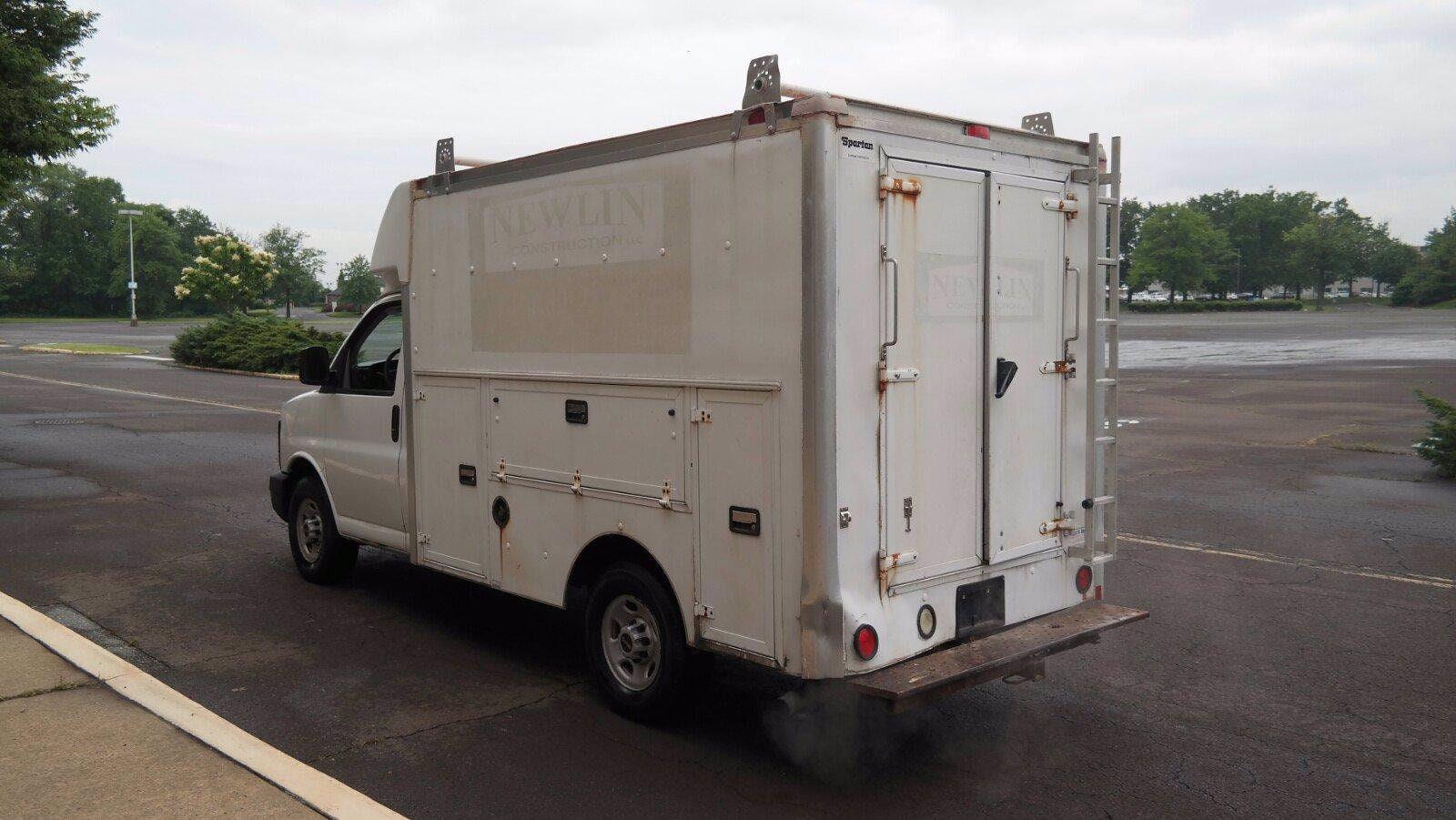 2007 GMC Savana 3500 4x2, Service Utility Van #FL114601 - photo 8