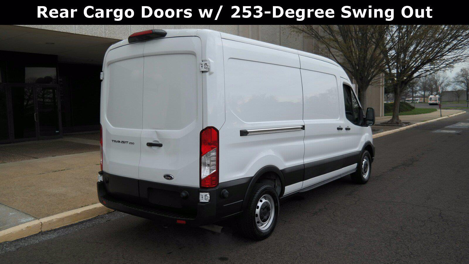 2020 Ford Transit 250 Med Roof 4x2, Empty Cargo Van #FL1146J - photo 10