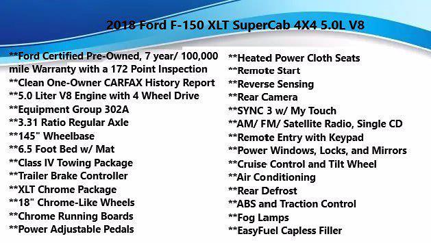 2018 Ford F-150 Super Cab 4x4, Pickup #FL1153D - photo 3