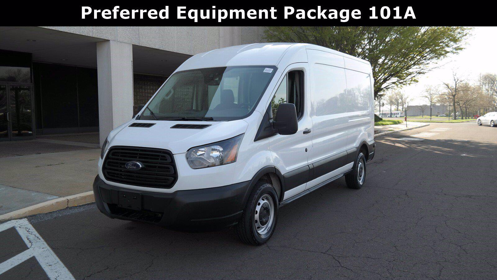 2019 Ford Transit 250 Med Roof 4x2, Empty Cargo Van #FL1163J - photo 6