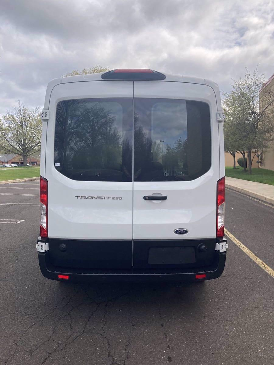 2019 Ford Transit 250 Med Roof 4x2, Empty Cargo Van #FL1164P - photo 7