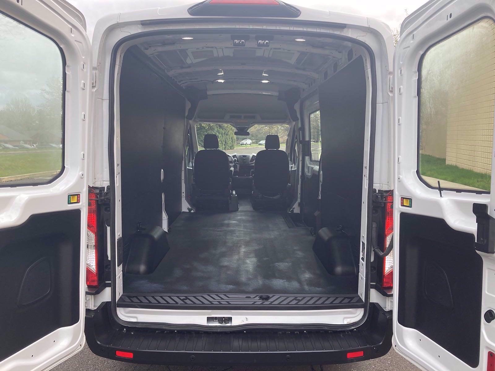 2019 Ford Transit 250 Med Roof 4x2, Empty Cargo Van #FL1164P - photo 2