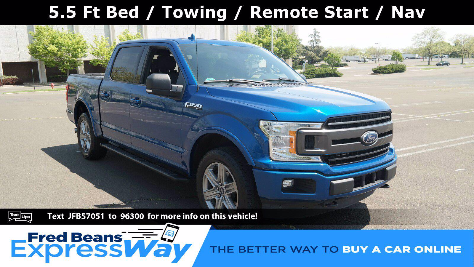 2018 Ford F-150 SuperCrew Cab 4x4, Pickup #FL1169D - photo 1