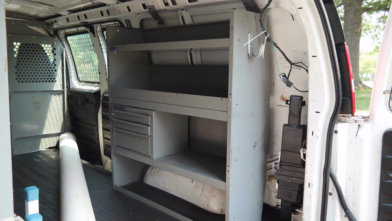 2007 Chevrolet Express 1500 4x4, Upfitted Cargo Van #FL1209P - photo 6