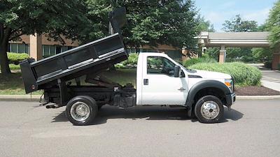 2011 Ford F-550 Regular Cab DRW 4x4, Dump Body #FL1295J - photo 5