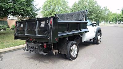 2011 F-550 Regular Cab DRW 4x4,  Dump Body #FL1295J - photo 2