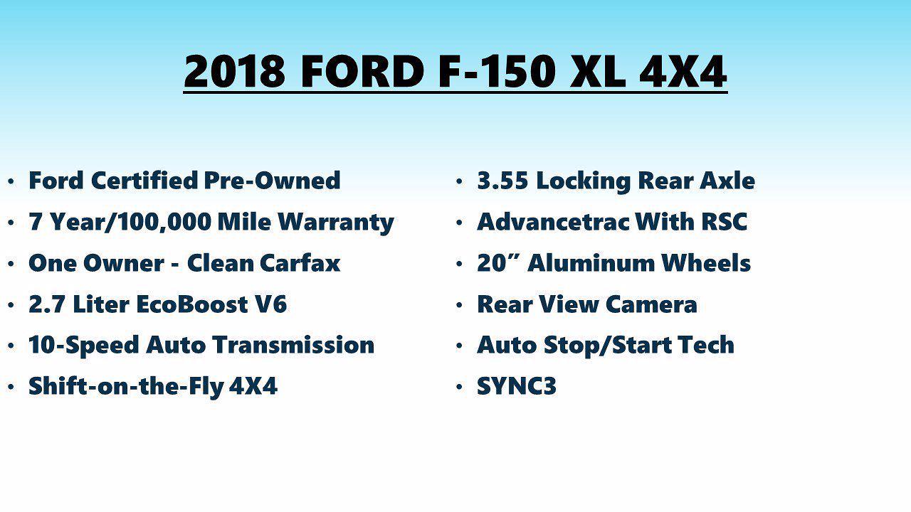 2018 F-150 SuperCrew Cab 4x4,  Pickup #FL1323C - photo 7