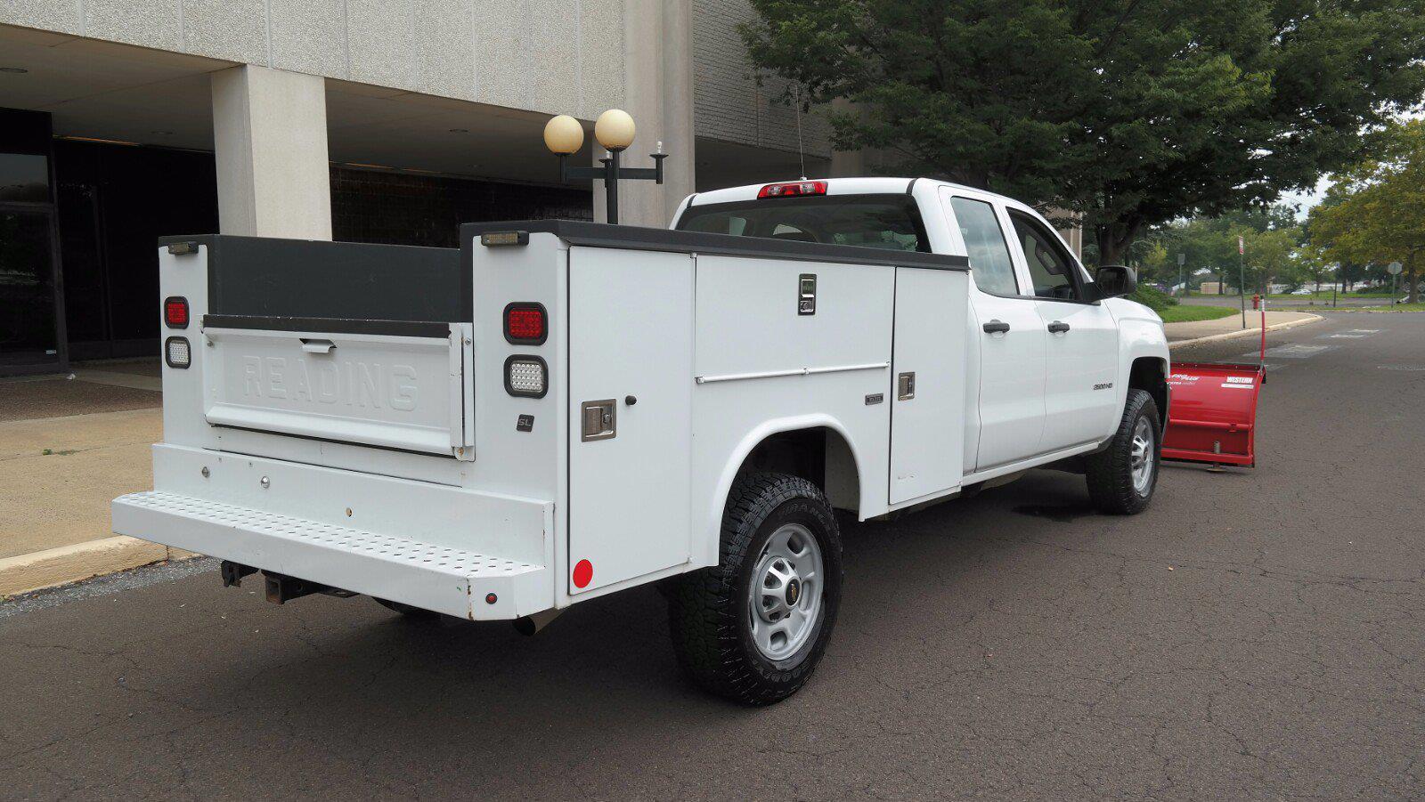 2016 Silverado 2500 Double Cab 4x4,  Service Body #FL1334P - photo 9