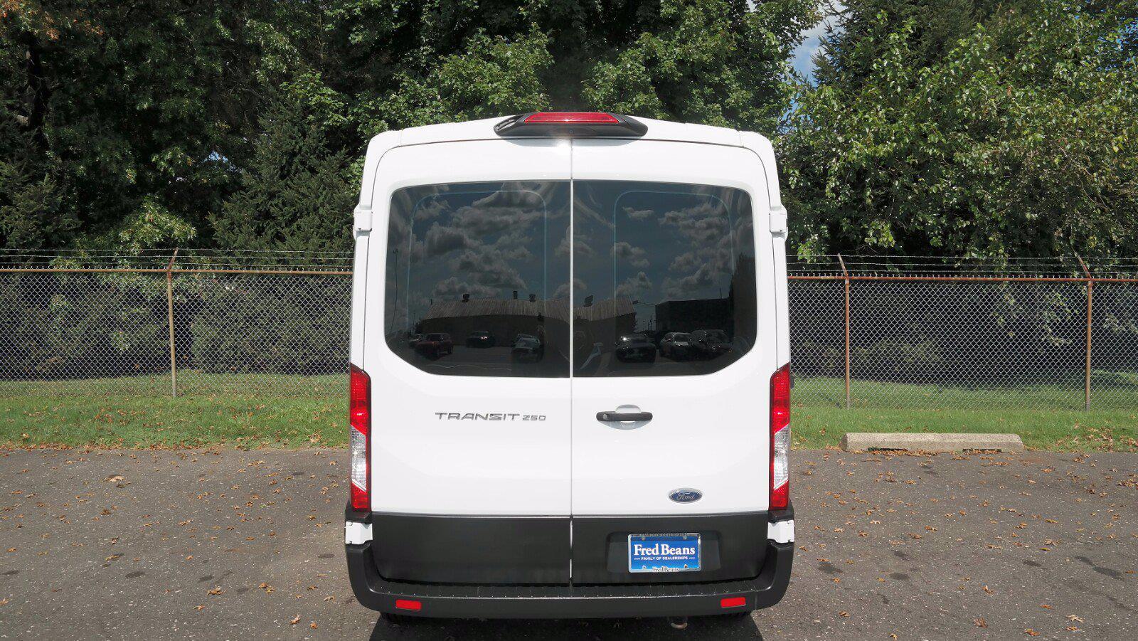 2019 Transit 250 Medium Roof 4x2,  Empty Cargo Van #FL1365P - photo 9