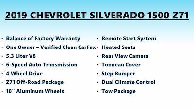 2019 Silverado 1500 Double Cab 4x4,  Pickup #FL1377S - photo 6