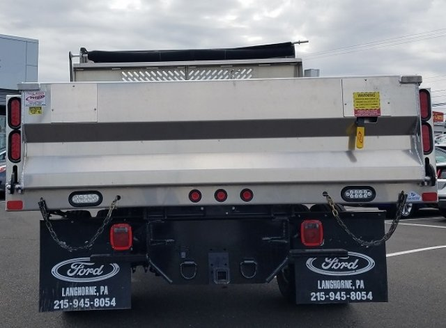 2019 F-350 Regular Cab DRW 4x4,  Voth Truck Bodies Dump Body #FL33729 - photo 7