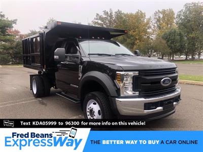 2019 F-550 Regular Cab DRW 4x4,  SH Truck Bodies Landscape Dump #FL34189 - photo 1