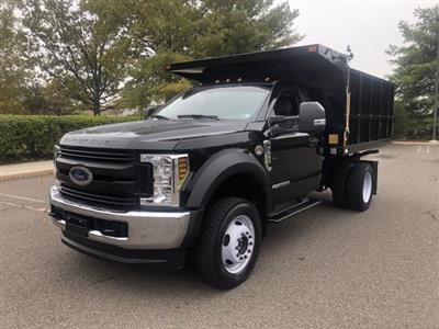 2019 F-550 Regular Cab DRW 4x4,  SH Truck Bodies Landscape Dump #FL34189 - photo 6