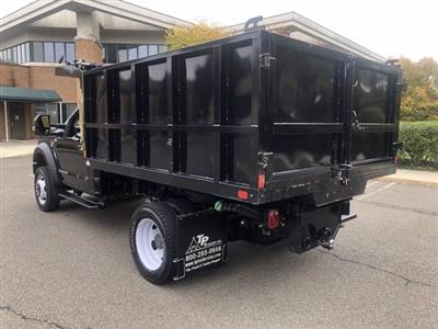 2019 F-550 Regular Cab DRW 4x4,  SH Truck Bodies Landscape Dump #FL34189 - photo 8