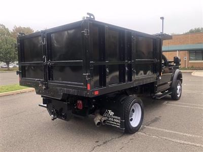 2019 F-550 Regular Cab DRW 4x4,  SH Truck Bodies Landscape Dump #FL34189 - photo 2