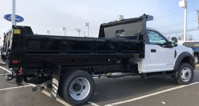 2019 F-550 Regular Cab DRW 4x4, Rugby Eliminator LP Steel Dump Body #FL34287 - photo 2