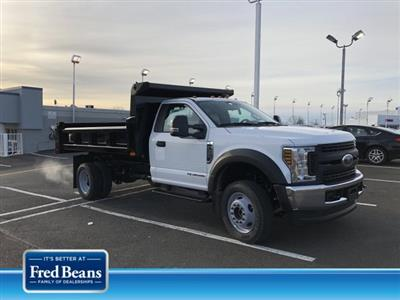 2019 F-550 Regular Cab DRW 4x4, Rugby Eliminator LP Steel Dump Body #FL34287 - photo 1