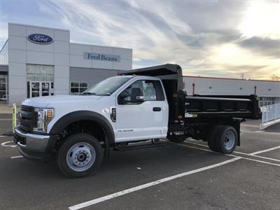2019 F-550 Regular Cab DRW 4x4, Rugby Eliminator LP Steel Dump Body #FL34287 - photo 3