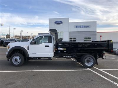 2019 F-550 Regular Cab DRW 4x4, Rugby Eliminator LP Steel Dump Body #FL34287 - photo 4