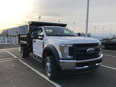 2019 F-550 Regular Cab DRW 4x4, Rugby Eliminator LP Steel Dump Body #FL34287 - photo 9